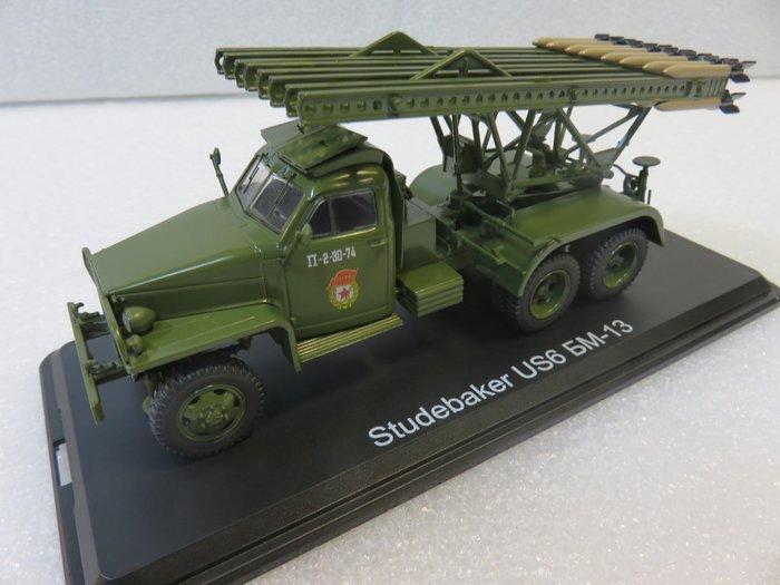 宗鑫貿易 1/43 Herpa 83SSM1378 Studebaker US6 BM 13 多管火箭車