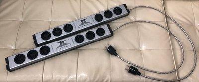 【杰士音響→中古二手買賣交換】瑞士ENSEMBLE POWER POINT 6孔電源排插(歐洲220V專用),1標一個