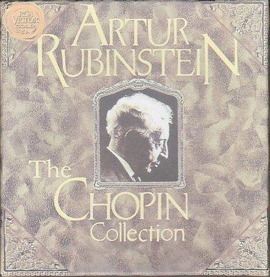 音樂居士*RubinsteinThe Chopin Collection 肖邦鋼琴全集 魯賓斯坦 11CD*CD專輯