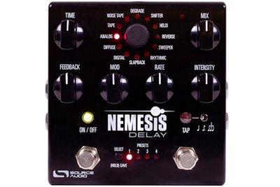 """『放輕鬆樂器』 全館免運費 Source Audio Nemesis Delay """"復仇女神"""" 延遲效果器"""