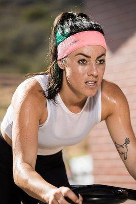 騎跑泳者 - 汗樂 Halo AIR 獨特網狀透氣織布 標準版5cm 套頭式頭帶(四色可選)健身工廠,飛輪/有氧.