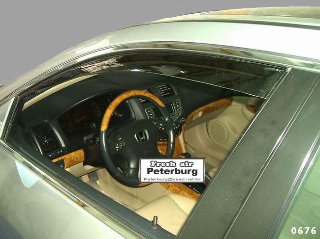 比德堡崁入式晴雨窗本田HONDA─ACCORD K11 2003-2007年專用賣場有多種車款車型原廠品質 OEM正品