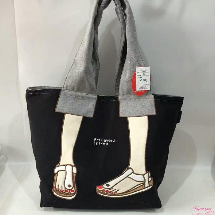 日本 Mis zapatos 刺繡涼鞋 帆布包包 美腿包 肩背包 斜背包 側背包 後背包 錢包 化妝包 手提包 媽媽包