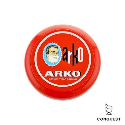 【 CONQUEST 】ARKO 土耳其刮鬍皂90g 原廠碗裝 Shaving Soap 土耳其國民品牌 刮鬍泡