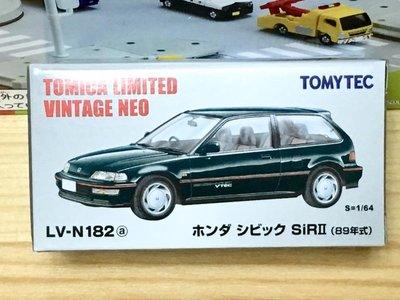 TOMYTEC LV-N182a Honda CIVIC Sir-II (綠)