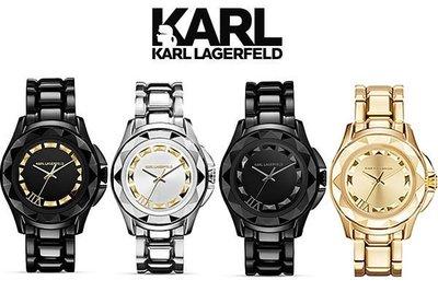 KARL LAGERFELD 卡爾·拉格斐 Karl 7 UNISEX 36MM 腕錶 手錶 中性錶|100%全新真品
