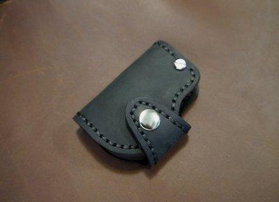 (KH手工皮件)純手工牛皮訂製汽車晶片鑰匙皮套Mini Cooper S.Countryman可用.可自選皮色