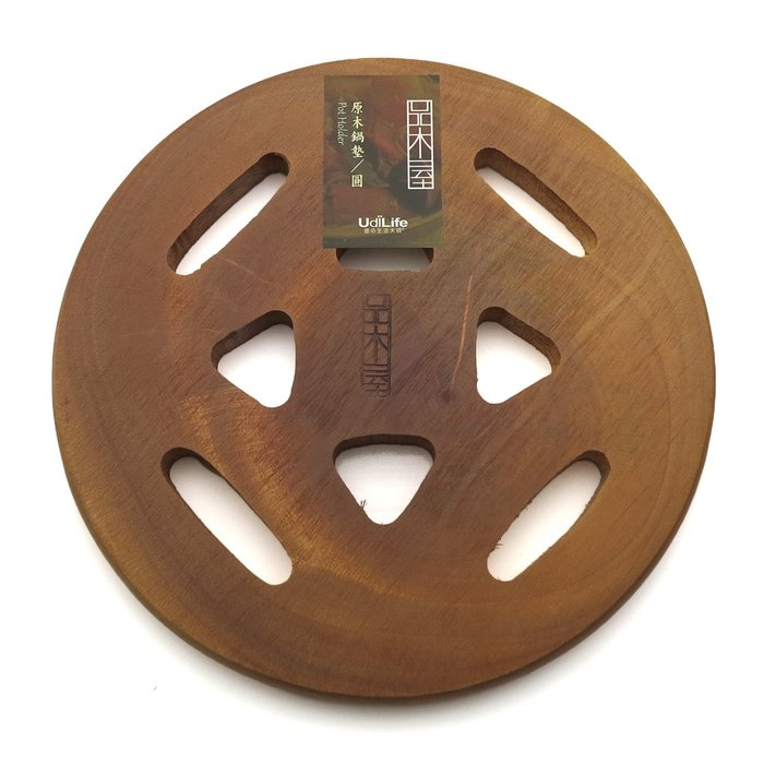 「CP好物」原木隔熱墊 (圓形) 木頭隔熱墊 原木鍋墊 木頭鍋墊 實木隔熱墊 止滑墊 防燙墊 餐墊 熱鍋墊