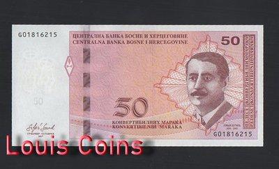 【Louis Coins】B465-BOSNIA & HERZEGOVIN-2017波士尼亞與赫塞哥維納紙幣(黑山)