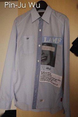 Wtaps 2008 shirts LS 襯衫 九成新 西山徹著用 08 貼布 S號
