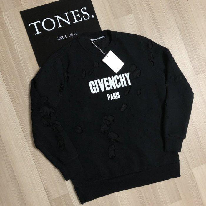 【TONES.】Givenchy 18SS Denim 大破壞 衛衣