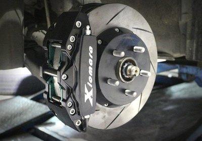 【Xiomara GT】煞車 卡鉗 活塞 TOYOTA WISH 280劃線碟盤 街道版-大四卡鉗 硬陽黑