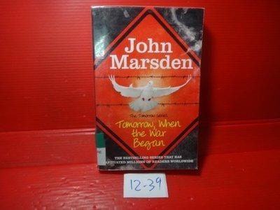 【愛悅二手書坊 12-39】Tomorrow When the War Began   John Marsden