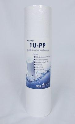 A00005【清淨淨水店】台製 Yowshan 10英吋棉質PP濾心1微米20元 台中市