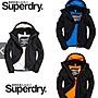 官網正品 限時下殺 Superdry 極度乾燥 三拉鍊 基本款外套 情侶款 防風保暖 防潑水 迷彩 刷毛防風外套 外套