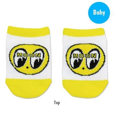 (I LOVE樂多)MOONEYES EYEBALL Baby Ankle Socks 嬰兒襪子 送禮自用兩相宜