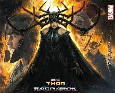 毛毛小舖--雷神索爾3:諸神黃昏 電影美術設定集 精裝版 Thor: Ragnarok