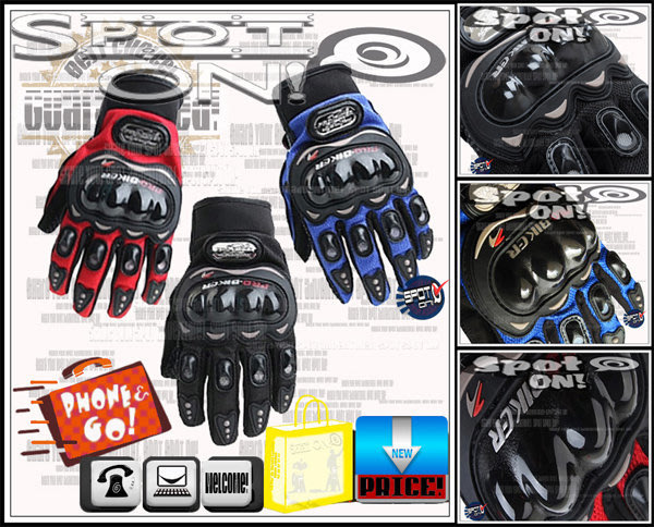 Spot ON - 超夯 PB-MCS-01C 摩托車手套!SALE*****我最便宜 MCS01 VOLVO MCS01C RG2