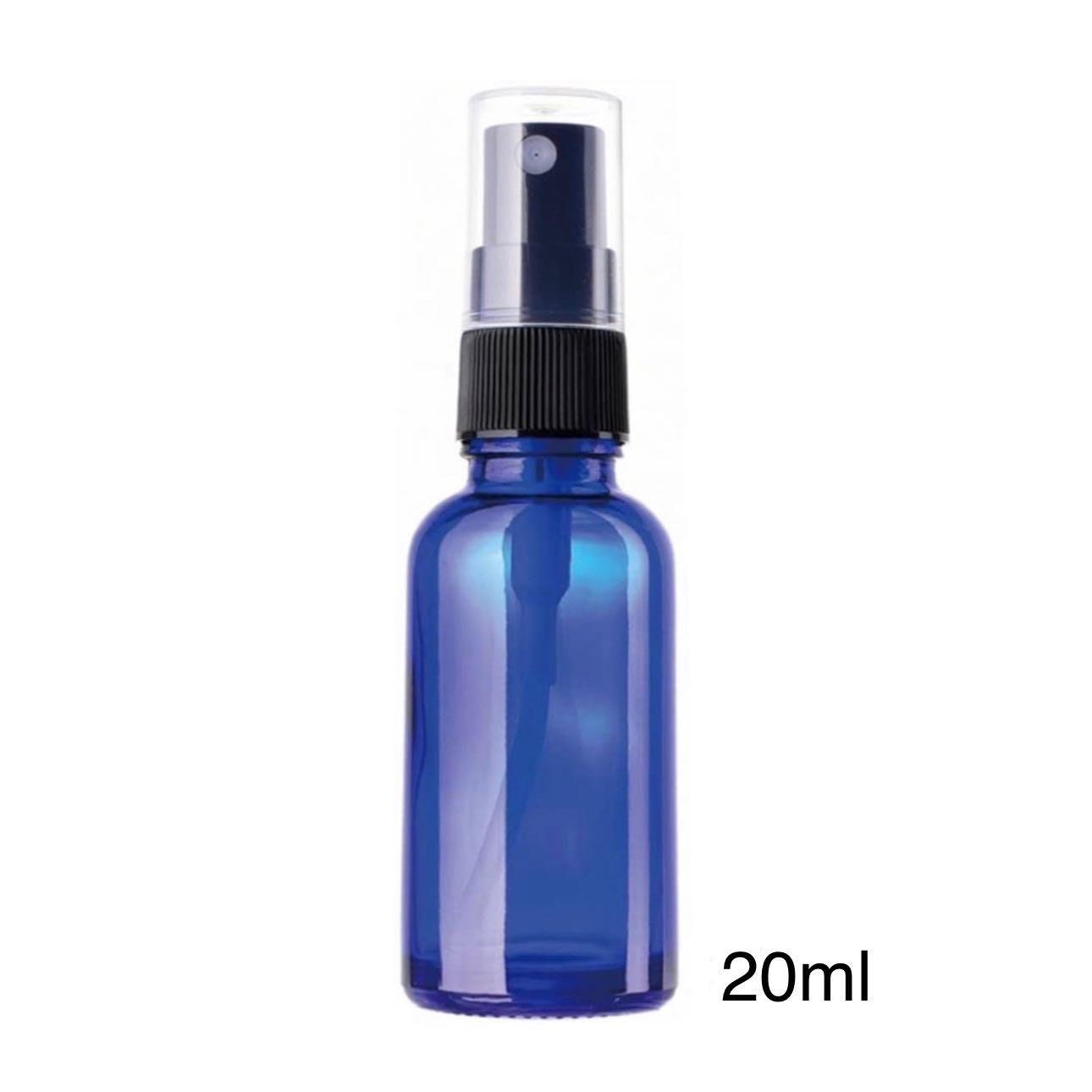 【現貨】臺灣製??20ml玻璃噴霧瓶【藍色避光玻璃噴霧瓶】