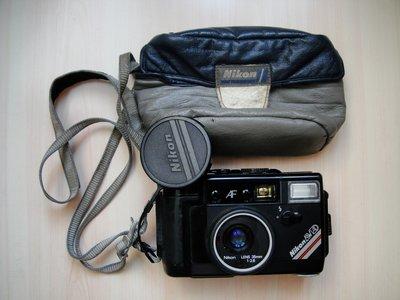 【康泰典藏】 NIKON L35 AW AD 日本製 / 35mm f2.8 防水底片相機~AF.AD.AD2 姊妹機