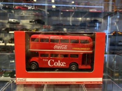 吉華科技@Coca Cola Routemaster London Double Decker Bus 1/60