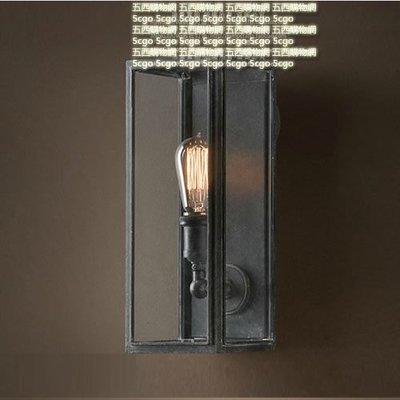 5Cgo【燈藝師】含稅會員有優惠 24882212951  客廳臥室酒吧台燈飾 飯 店戶外 防霧水鏡前壁燈具 愛迪生