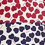 Ariel Wish-日本WPC百貨晴雨兩用折傘短傘雨傘陽傘防曬遮陽深藍色紅色大愛心款超推薦-超輕量90g-兩款現貨各一
