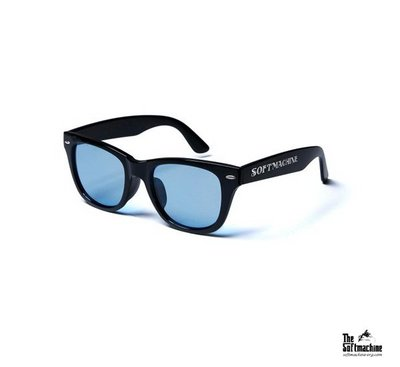 GOODFORIT / 日本Softmachine OAKLAND GLASS膠框太陽眼鏡/三色