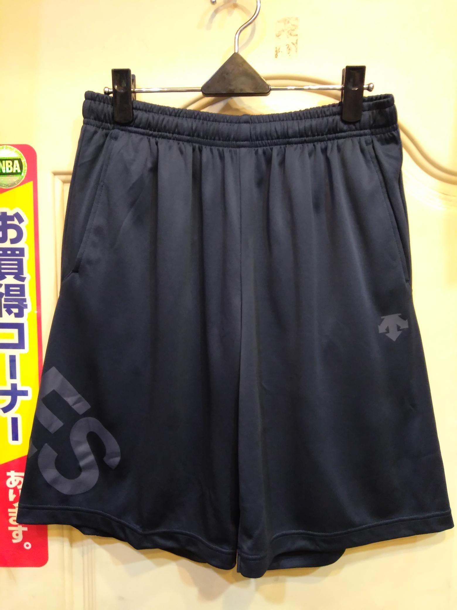 日本 DESCENTE 透氣排汗運動短褲 深藍色 大谷翔平代言 訓練時著用 緯來極限體能王  日職 韓職 多位選手著用