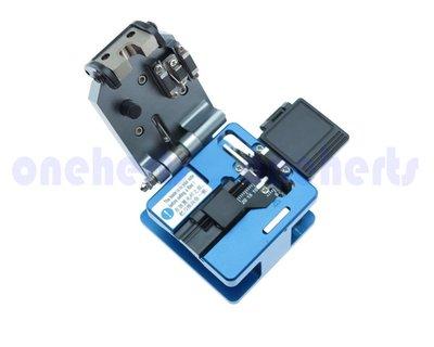 FK-2光纖切割刀廢光纖收集盒 現貨 光纖切割台 光纖連接工具 保固一年 台灣滑軌 割角度0.3度內