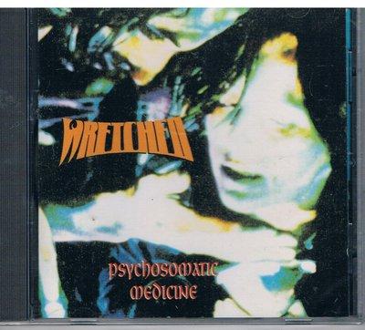 [鑫隆音樂]西洋CD-Wretched - Psychosomatic Medicine  (H00312)全新/免競標