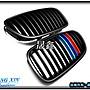 《晟鑫》全新 BMW 新大五 M5系列 520I 523I 525I 霧黑 平光黑 M款三色 水箱護罩