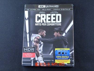 [藍光先生UHD] 金牌拳手 Creed UHD + BD 雙碟限定版