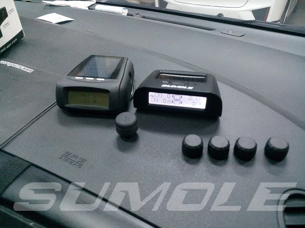 *Sumole全新上架*TPS7 新一代太陽能胎壓偵測器 TPMS 胎壓監測器 胎壓計 可刷卡 保固一年 V