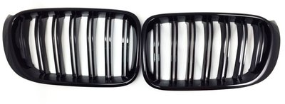 GRILLES for F34 3GT M3 LOOK 12-15 水箱罩 鋼琴黑亮烤漆