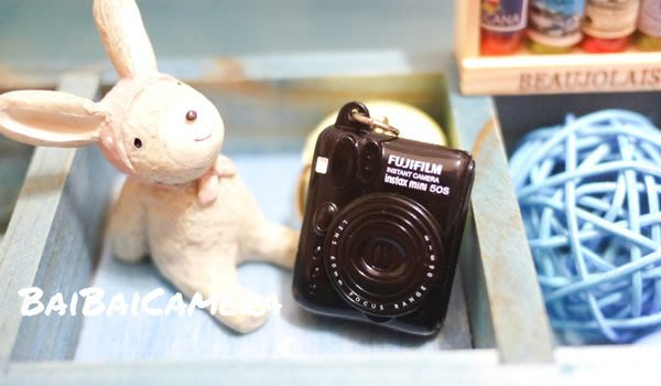 BaiBaicamera 富士 MINI 50s 拍立得相機 鑰匙圈吊飾 MINI MIN