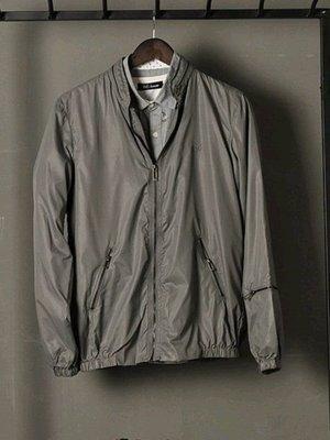 歐美品牌SELECTED隱形帽拉鍊設計 簡約單色 男連帽長袖夾克外套 如圖色165號