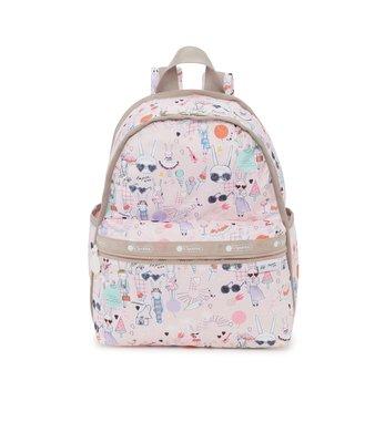 Coco小舖 LeSportsac Basic Backpack Fifi Lapin 聯名系列 基本款後背包
