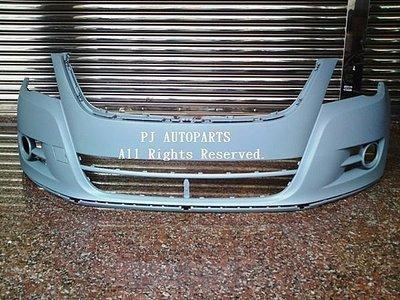 ※寶捷國際※ 08~11 VW TIGUAN 原廠式樣 前保桿 無噴/無雷 5N0807217 台灣製造