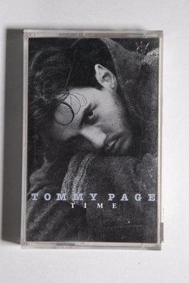錄音帶 / 卡帶 / F1 /英文 / TOMMY PAGE / 湯米佩吉 / TIME / 非CD非黑膠