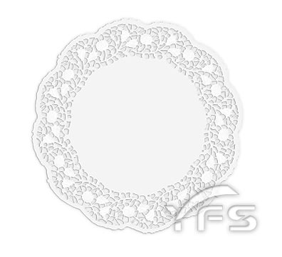 圓形花邊紙墊D165mm (餐墊紙/包裝紙/裝襯紙)