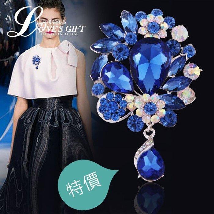 東大門平價鋪  日韓版大胸針胸花,高檔女士生日禮物, 韓國仿水晶別針,吊墜T卹飾品