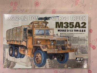 AFV CLUB M35A2 6x6 2-1/2 ton Cargo Turck