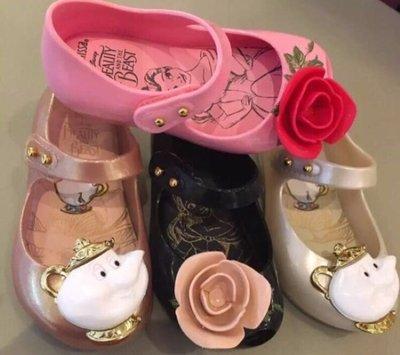 《生活晶選》美女與野獸 兒童 鞋 mini melissa 梅麗莎 正品 果凍鞋 《台北可面交》