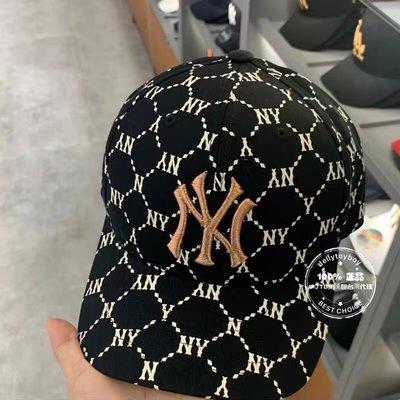 20秋冬復古款 黑色NY 老花棒球帽 全新正品 MLB 洋基 NY老花_LA老花 巴黎世家 棒球帽 同款