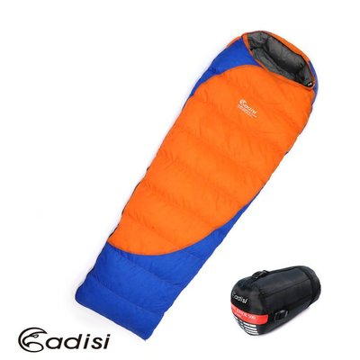 ~山野賣客~ADISI CAMPING JUNIOR 500 羽絨睡袋 AS16057露營 睡袋 鴨絨保暖 戶外露營