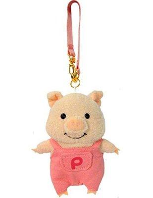 天使熊雜貨小鋪~日本ぷーとん マスコット(ピンク) 粉紅小豬吊飾  全新現貨