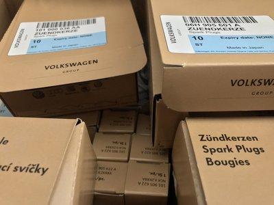 VW 福斯 Golf MK5 2.0GTI 2.0TFSI 火星塞 GTI5代 06H905601A 1組4顆裝