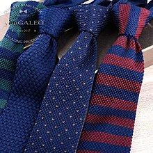 爆款熱賣-男時尚韓版休閑百搭毛線針織 英倫尖頭型窄版領帶禮盒裝 6cm寬度