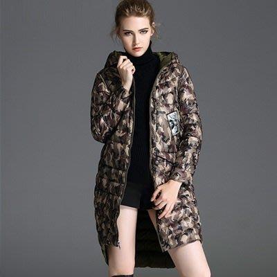 羽絨 外套 連帽夾克-保暖白鴨絨輕薄修身中長款女外套2色73pj21[獨家進口][米蘭精品]